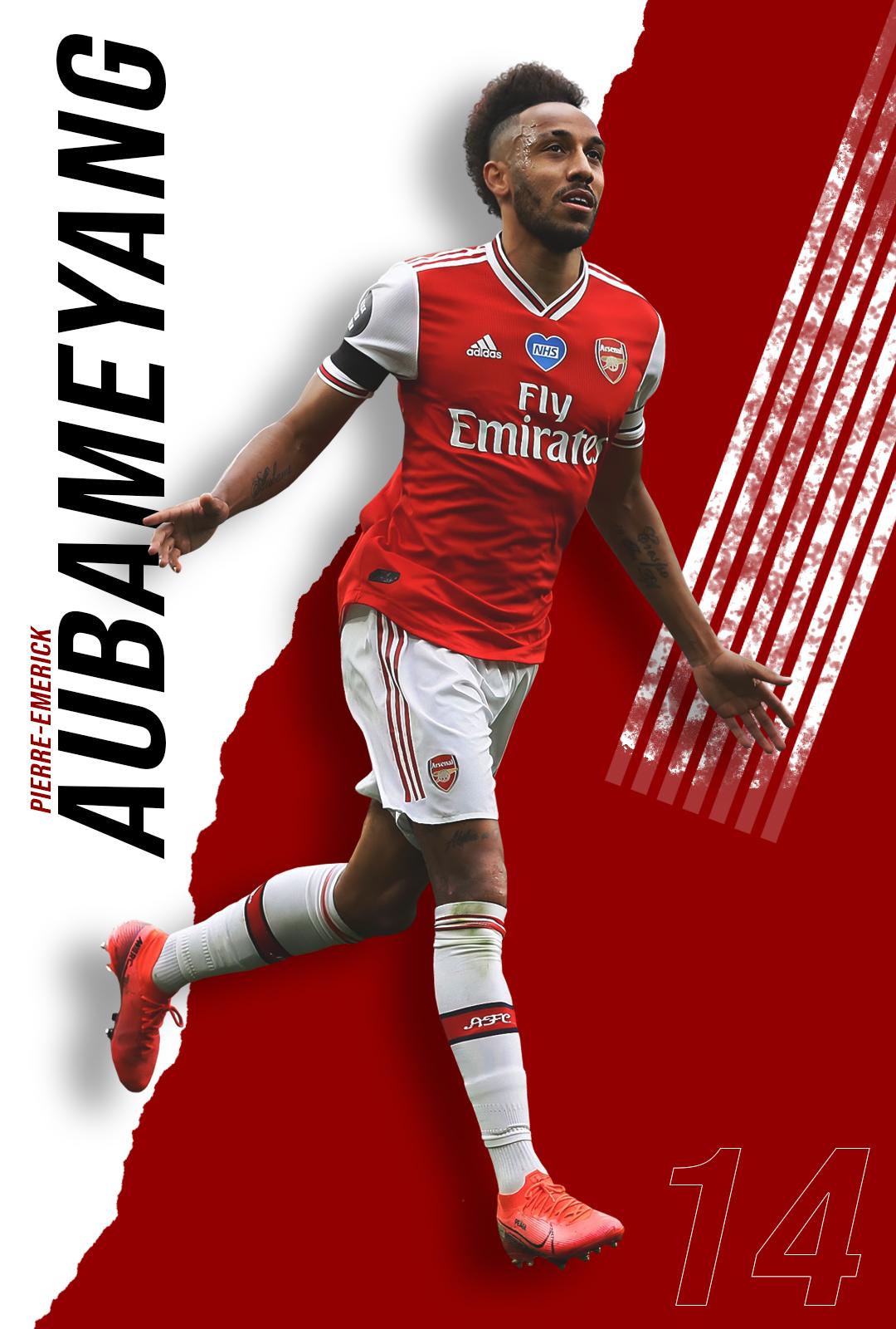 Pierre-Emerick Aubameyang, Arsenal.