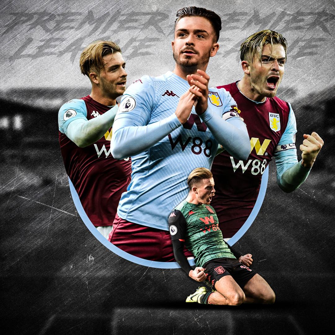 Jack Grealish, Aston Villa.