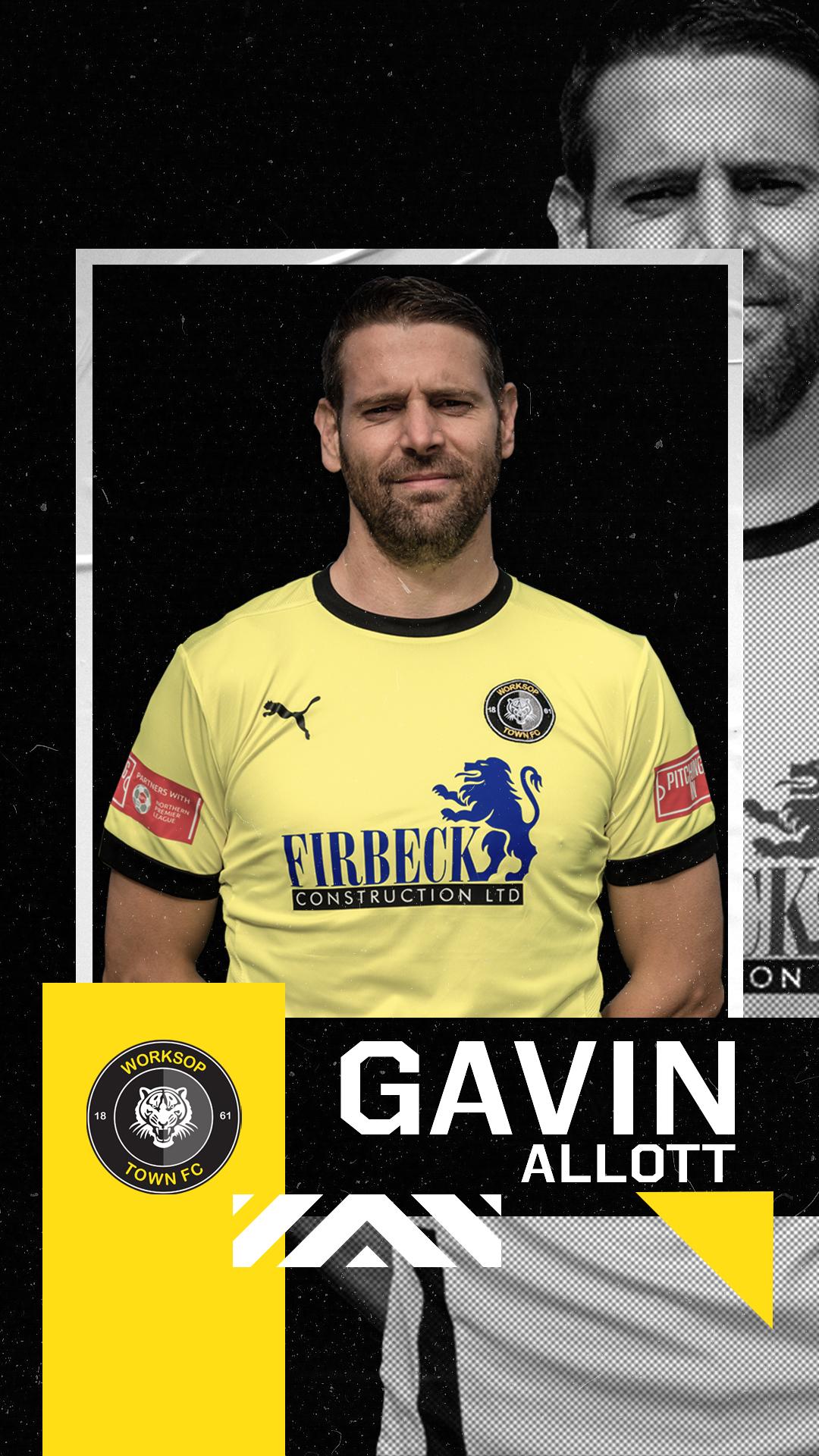 Gavin Allott, Worksop Town.